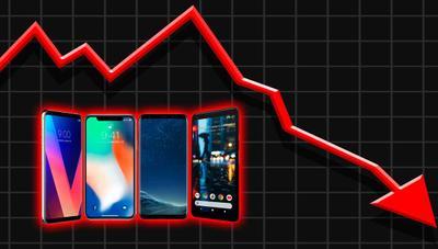 La venta de móviles se desploma en España por el aumento de los precios