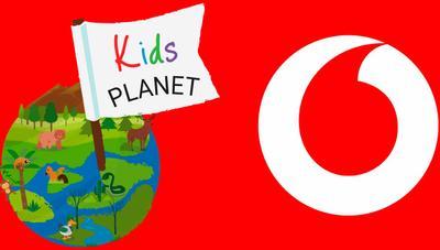 Kids Planet, la nueva app de Vodafone con juegos, vídeos, cuentos y canciones para niños