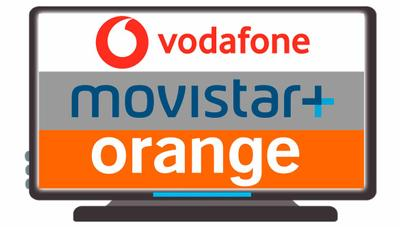Vodafone TV vs Movistar+ vs Orange TV: ¿quién tiene la mejor oferta de televisión?