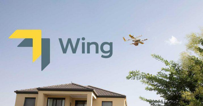wing entrega paquetes drone