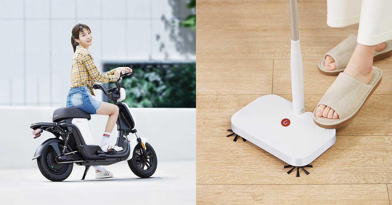 xiaomi moto electrica escoba