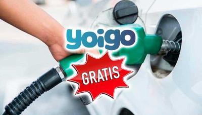 Gasolina gratis, el primero de los regalos de Yoigo para sus clientes