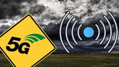 No, el 5G no va a afectar a las predicciones meteorológicas