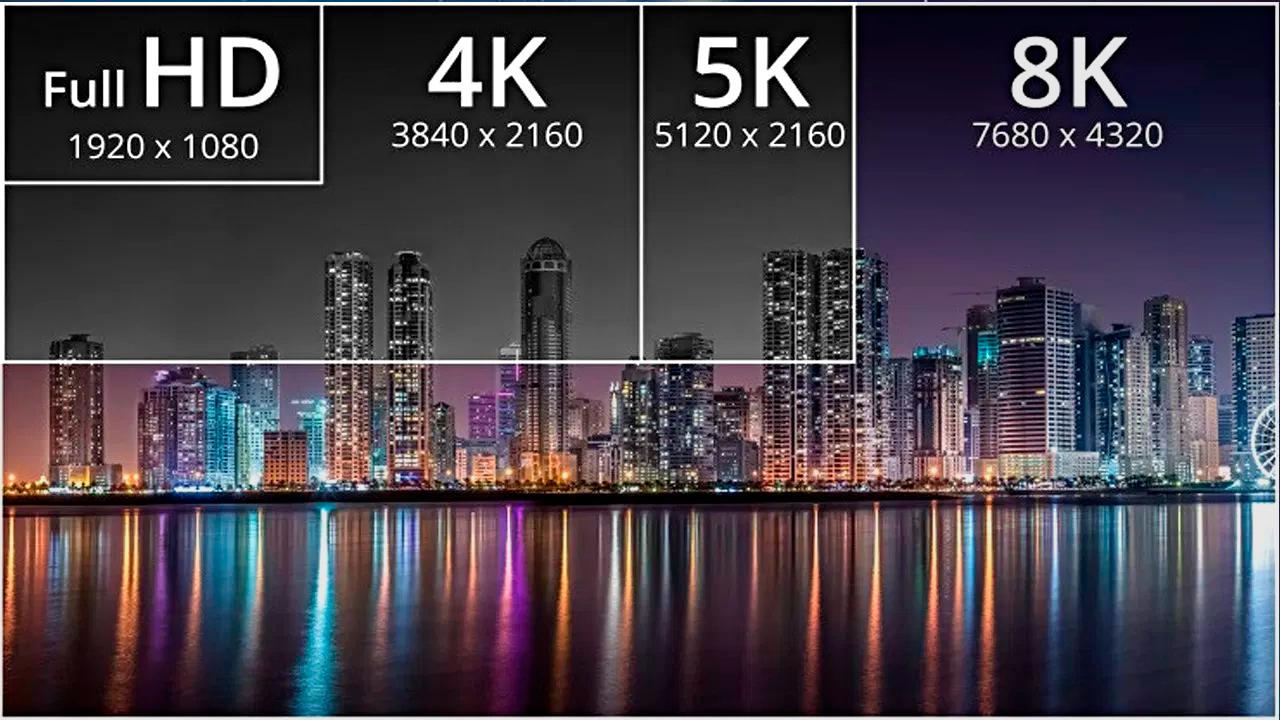 8K: resolución, diferencias con el 4K, contenidos y modelos Smart TV