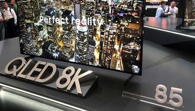 Primeras emisiones de televisión 8K por satélite y 5G