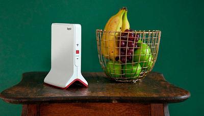 Repetidor WiFi FRITZ!Repeater 3000, triple banda para máxima velocidad y cobertura