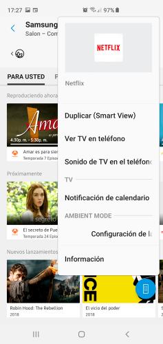 Samsung Smarthings app opciones