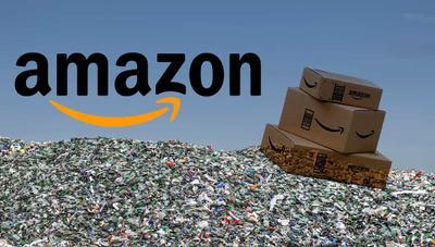 Amazon tira los productos que no vende: un empleado lo ha grabado