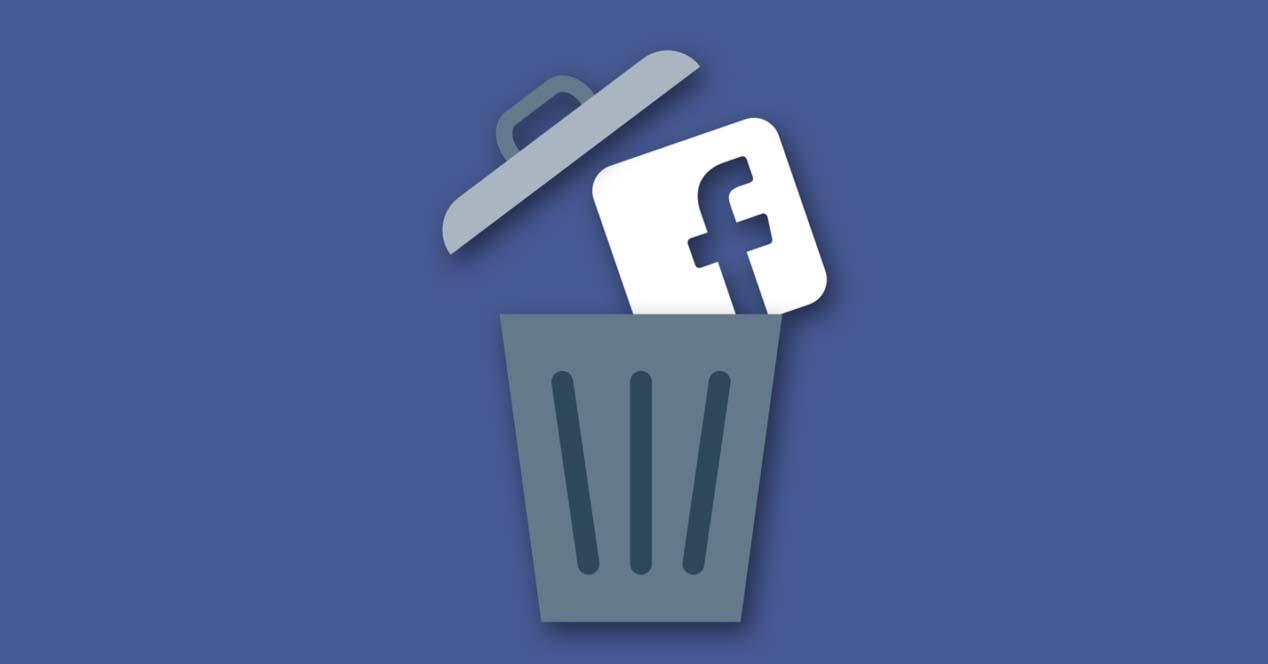 Como borrar una cuenta de Facebook - Cancelar cuenta de Facebook