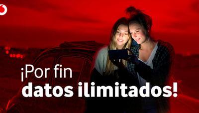Navega con total libertad sin preocuparte por quedarte sin datos en el móvil con las nuevas tarifas con datos ilimitados de Vodafone