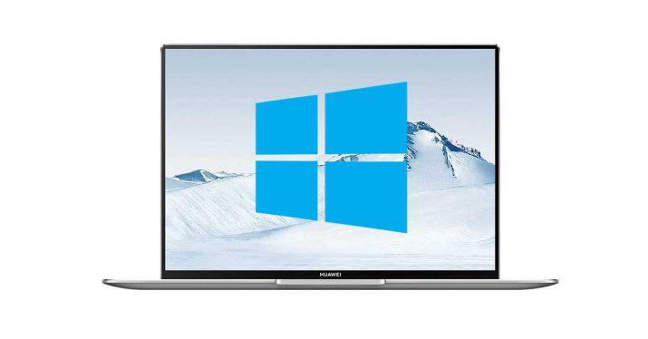 huawei portatil windows 10