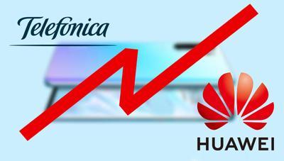 Telefónica está revisando la orden de bloqueo a Huawei