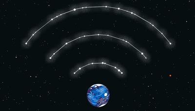 Internet desde el espacio cada vez más cerca
