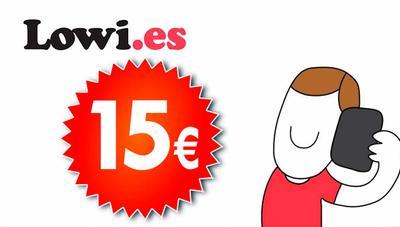 ¿Sigue ofreciendo Lowi llamadas ilimitadas y 20 gigas por 15 euros?