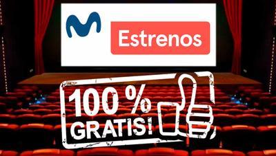 Movistar seguirá regalando el cine de estreno: así puedes conseguirlo gratis