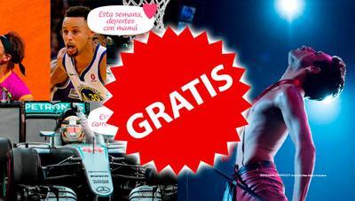 ¡Gratis! Movistar regala los paquetes Cine, Deportes y Motor con la F1