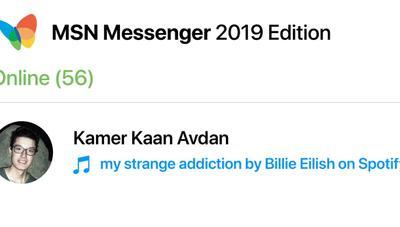 Imaginan cómo sería MSN Messenger 2019 si se lanzase hoy para móviles