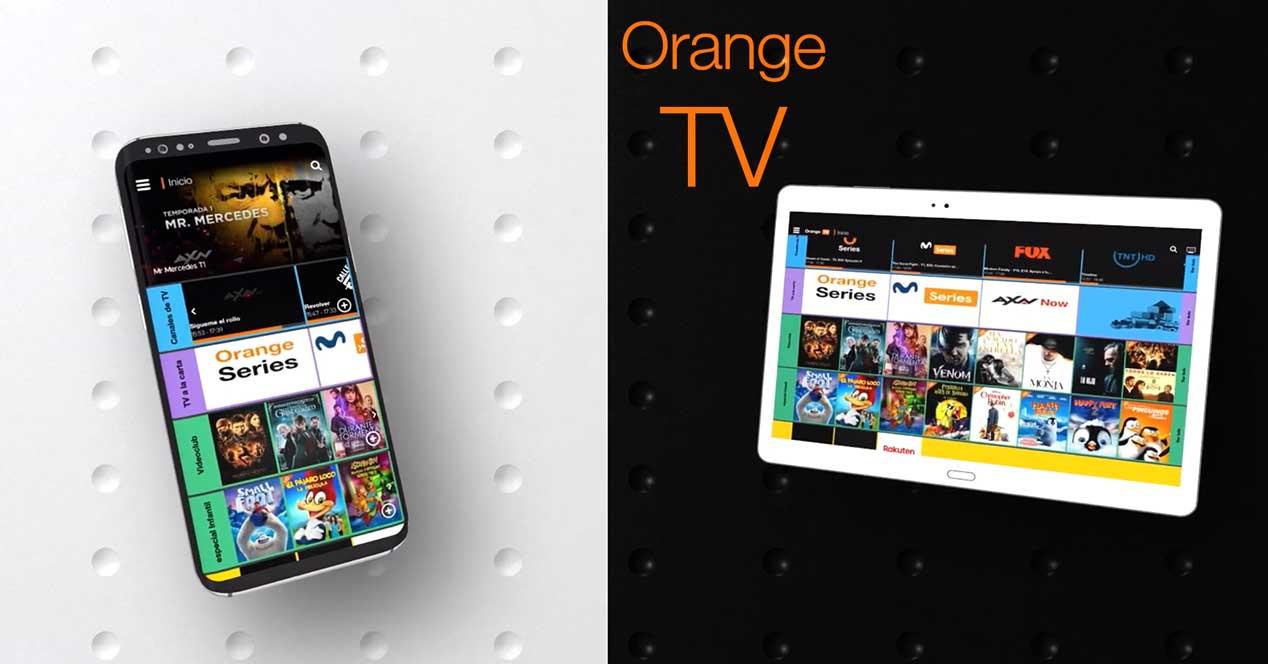 orange tv nueva app