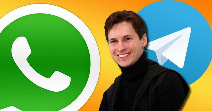pavel durov telegram whatsapp