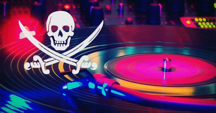 piratería música