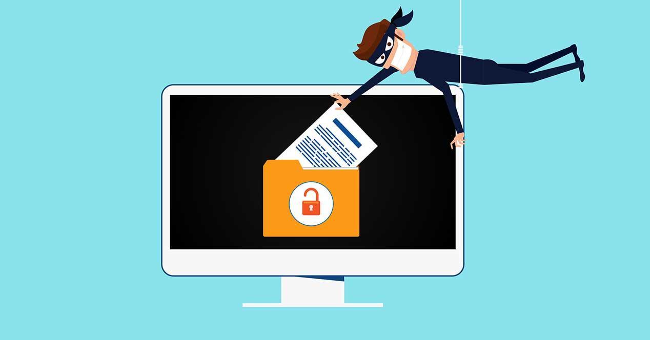 robar datos robo hack