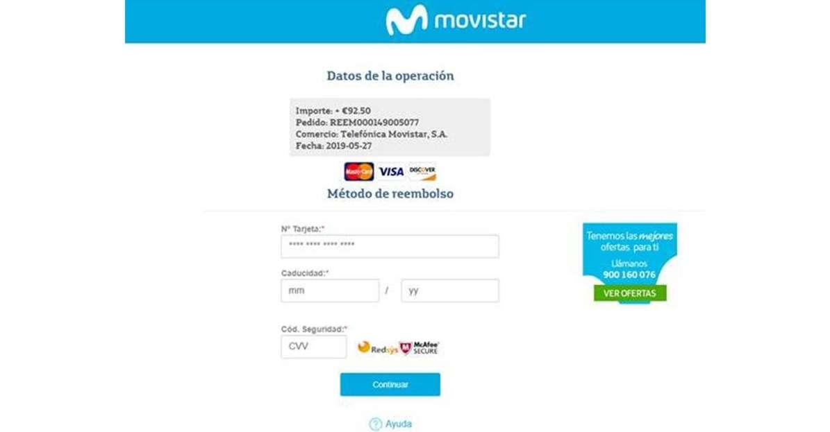 movistar phishing