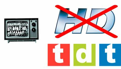 En la era del 4K, el partido en abierto de la TDT seguirá sin ser HD