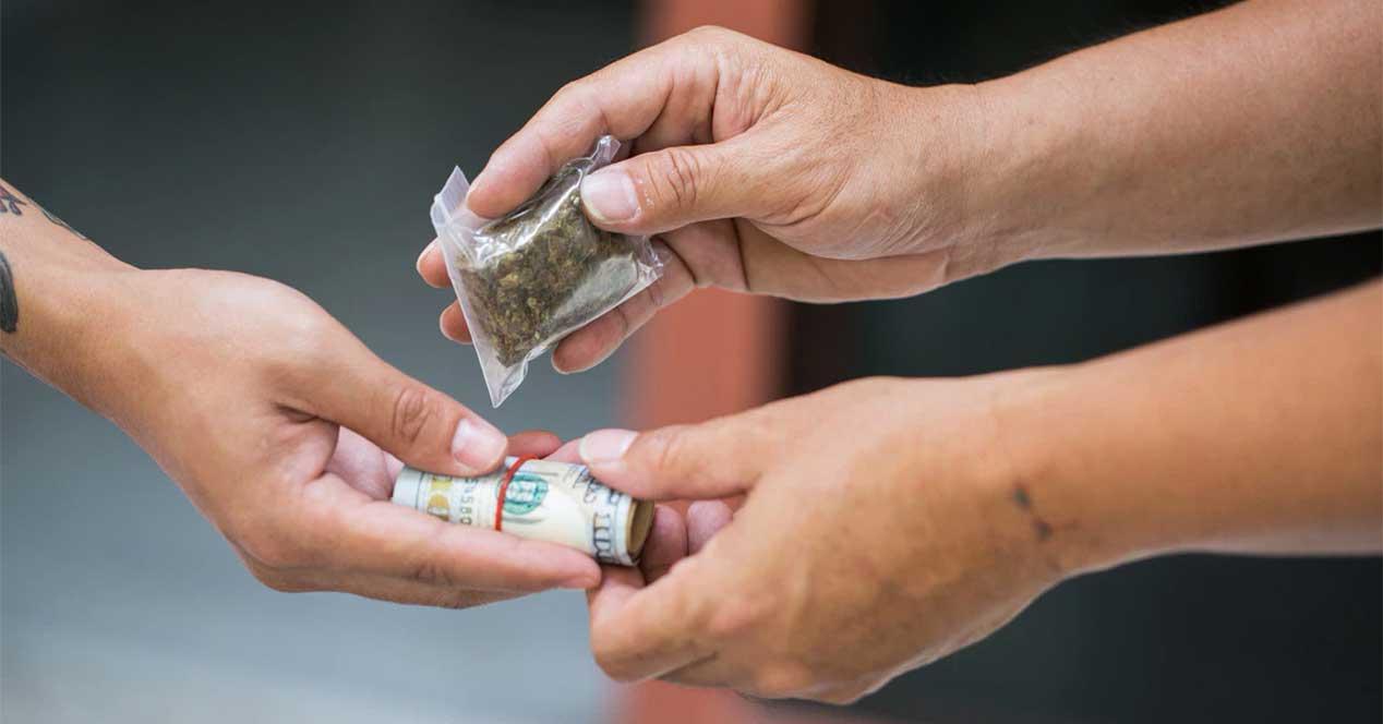 venta droga ilegal dark web deep web