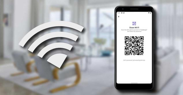 wifi android q compartir