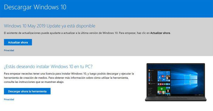 windows 10 may 2019 update instalar