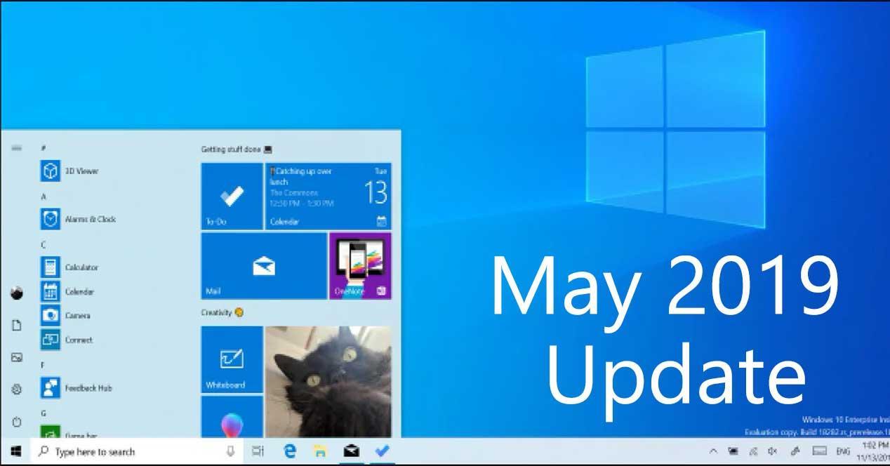windows 10 may 2019 update light theme