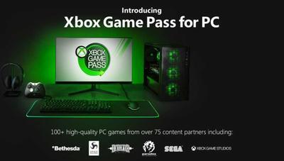Microsoft anuncia Xbox Game Pass para PC y que competirá con Steam con su tienda