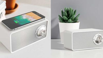 Xiaomi lanza un altavoz Bluetooth con carga inalámbrica