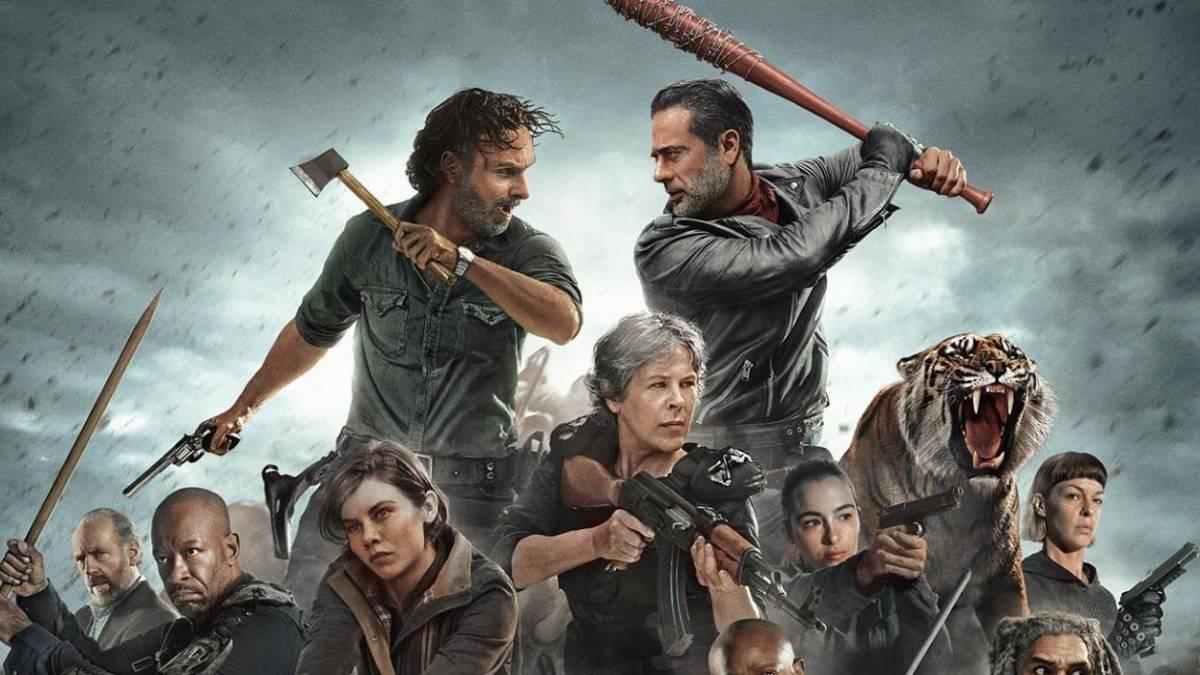 Mejores series de acción - Walking Dead