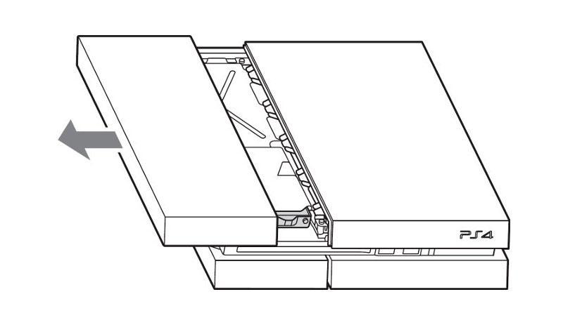 Pasos para abrir la PS4 de la serie CUH-1200