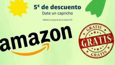 5 euros gratis en Amazon: nueva promoción para el mes de junio
