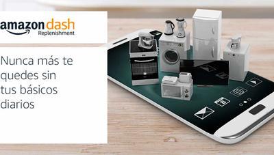 Llega a España el servicio que permite a tus electrodomésticos pedir 'solos' en Amazon