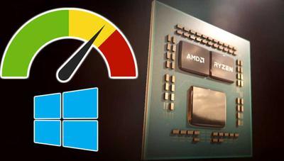 Si tienes un procesador AMD, ahora rinde hasta un 15% mejor en Windows 10