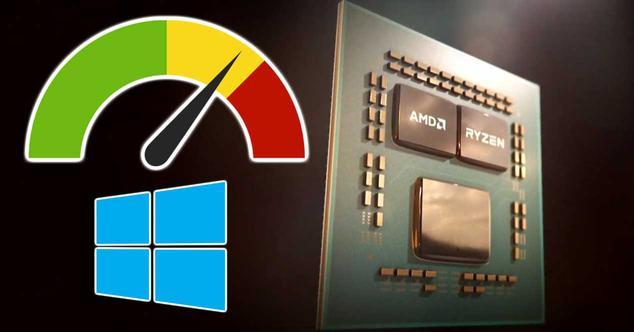 amd ryzen rendimiento mejora windows 10