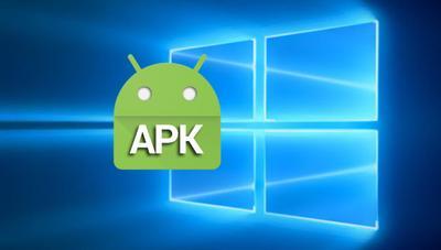 Cómo abrir archivos APK en Windows 10