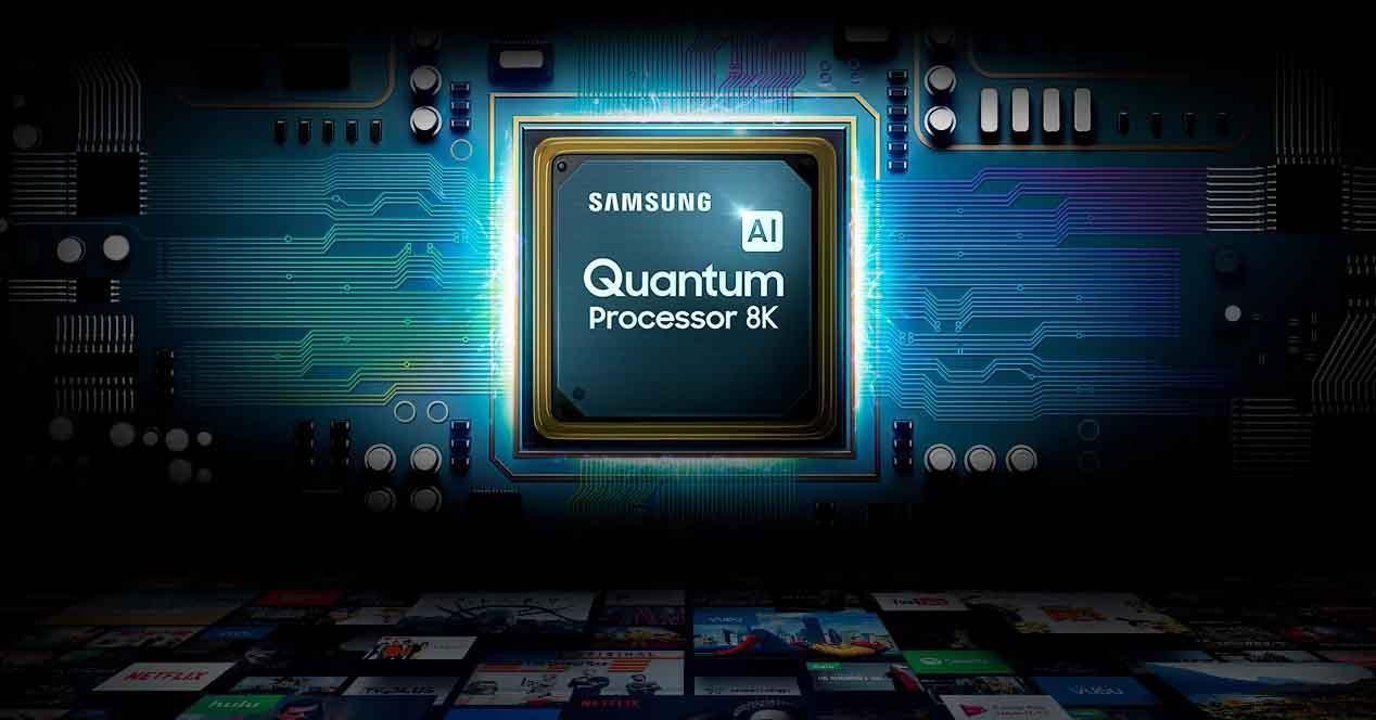 samsung quantum procesador