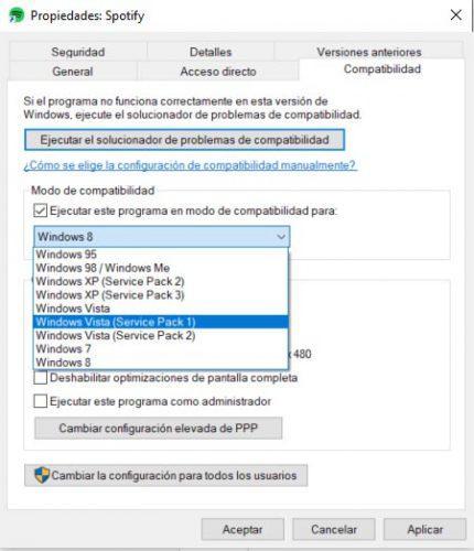spotify no se abre en windows 10
