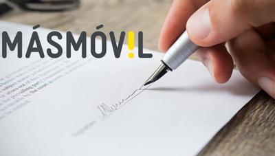 Cómo cambiar de titular un contrato en MásMóvil