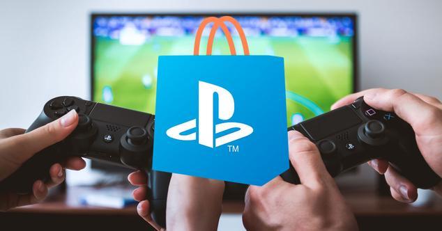 Jugando a la PS4