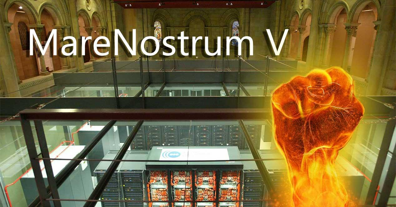 españa superordenador marenostrum v segundo más potente del mundo