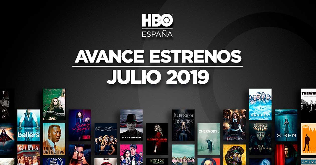 estrenos hbo julio 2019