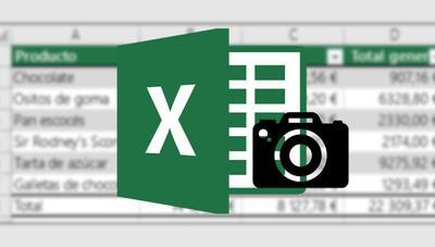 Cómo añadir los datos de una tabla a una hoja de Excel con una simple foto