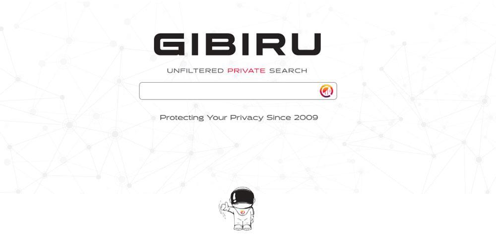 Página principal de Gibiru