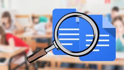 ¡Atentos profesores! Google Docs ya permite comparar archivos Word para detectar plagios