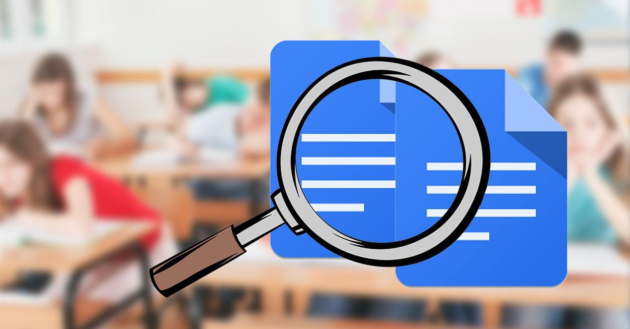google docs lupa comparar